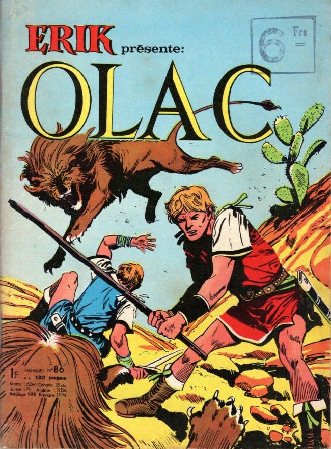 Couverture de Olac le gladiateur -86- Numéro 86