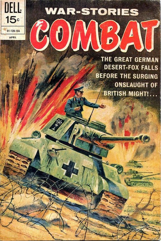 Couverture de Combat (Dell - 1961) -31- (sans titre)