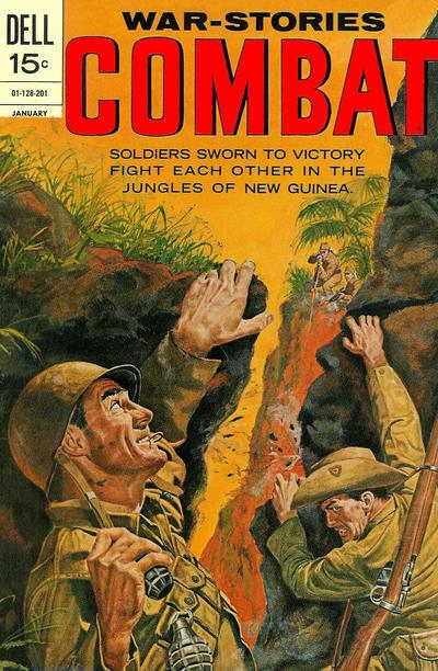Couverture de Combat (Dell - 1961) -34- (sans titre)