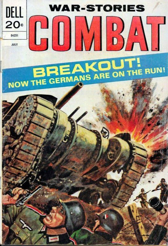 Couverture de Combat (Dell - 1961) -39- Breakout!
