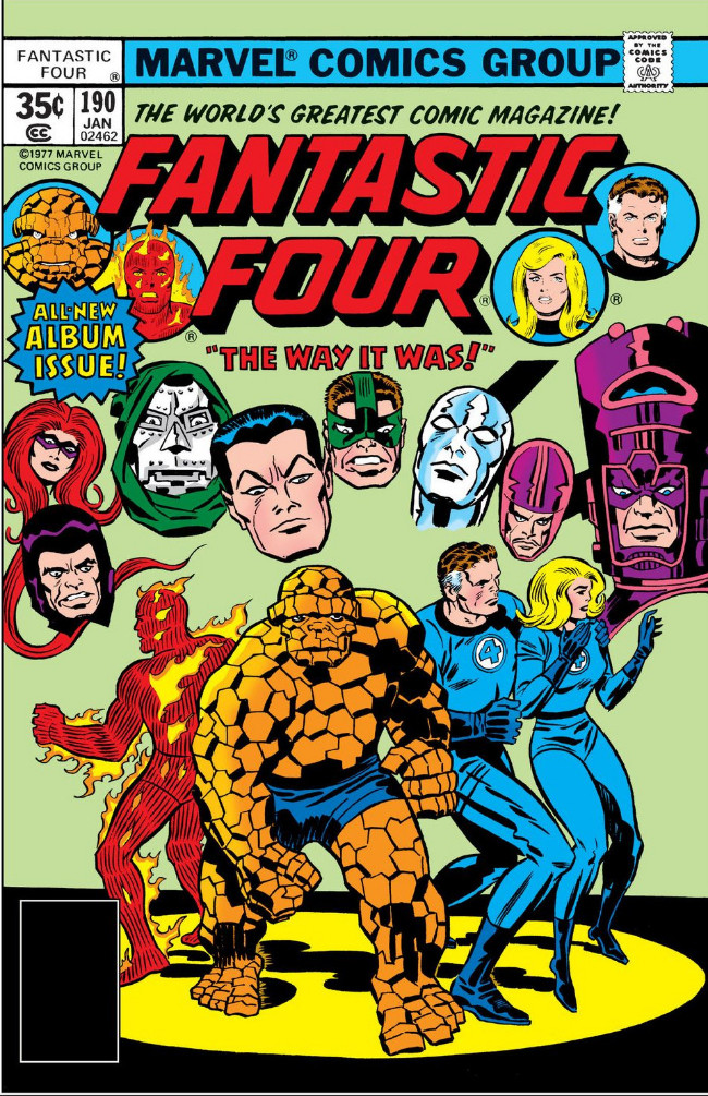 Couverture de Fantastic Four (1961) -190- The Way It Was