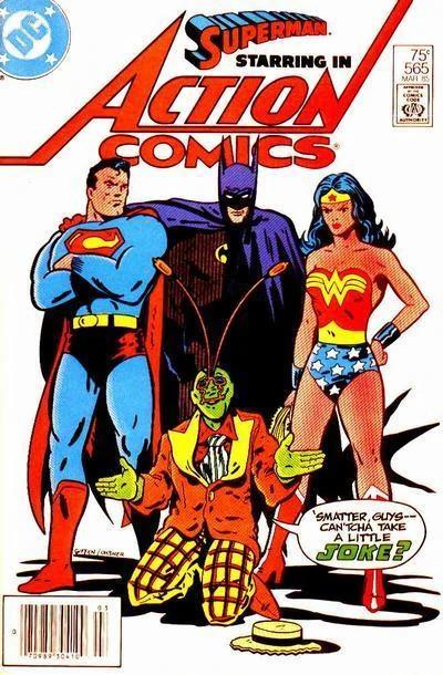 Couverture de Action Comics (1938) -565- Superman Starring In Action Comics