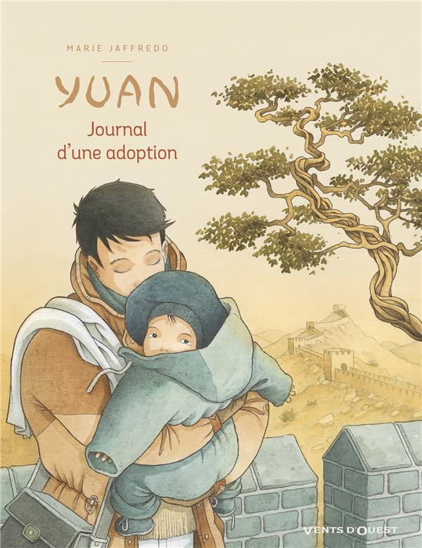 Couverture de Yuan, journal d'une adoption