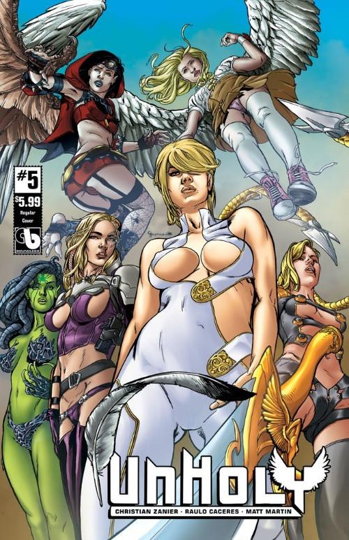 Couverture de Unholy -5- Issue 5