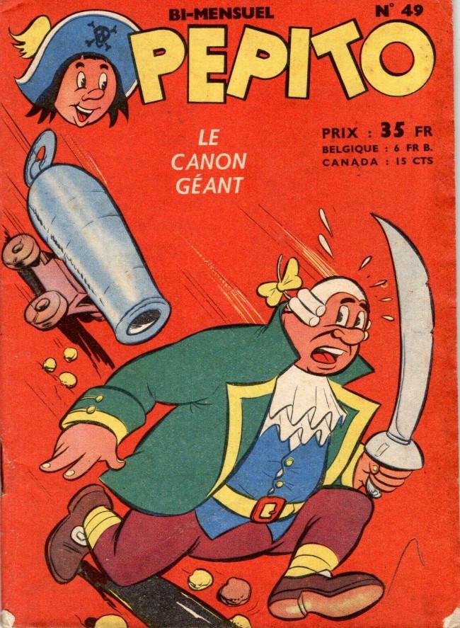 Couverture de Pepito (1re Série - SAGE) -49- Le canon géant