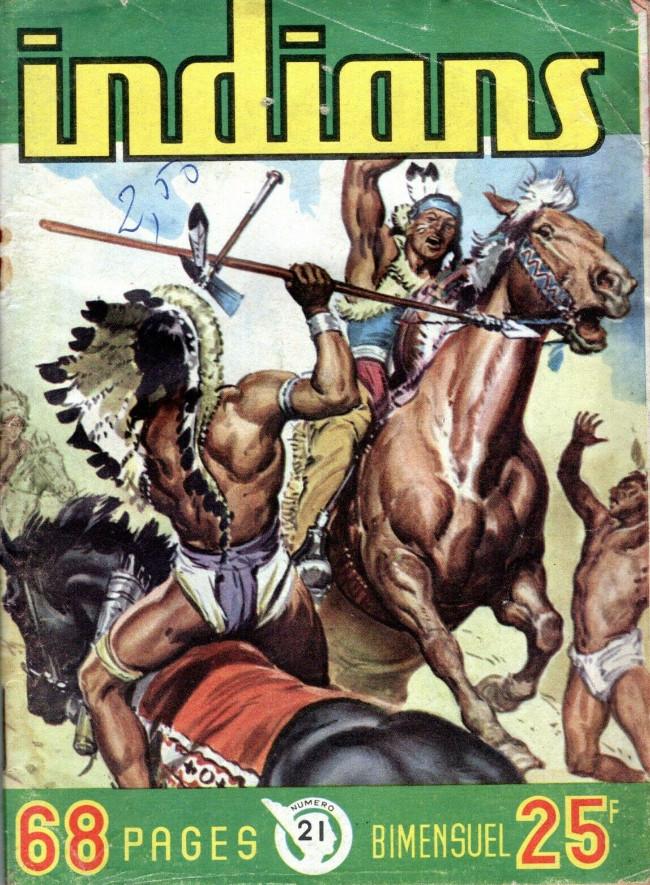 Couverture de Indians -21- Long Arc : Guignol