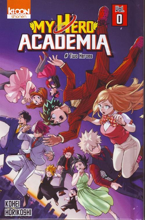 Couverture de My Hero Academia -0HC- Two Heroes