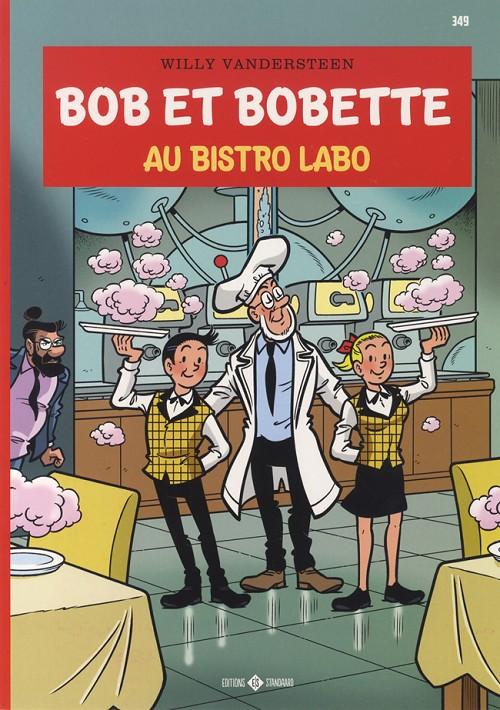 Couverture de Bob et Bobette -349- Au bistro labo
