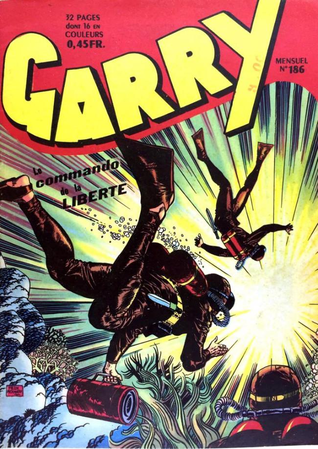 Couverture de Garry (sergent) (Imperia) (1re série grand format - 1 à 189) -186- Le Commando de la Liberté