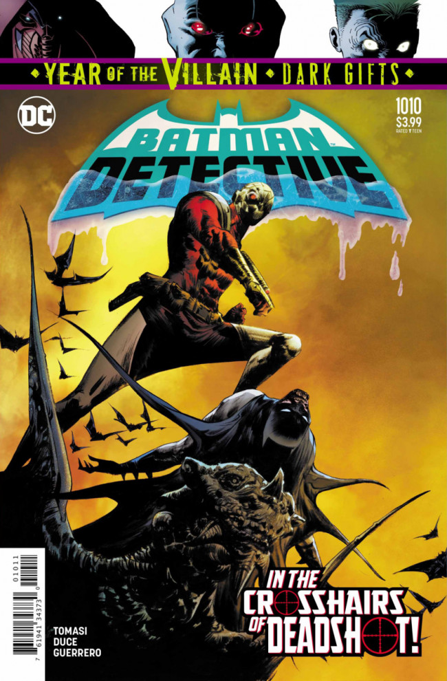 Couverture de Detective Comics (1937), Période Rebirth (2016) -1010- The Brave and the Old