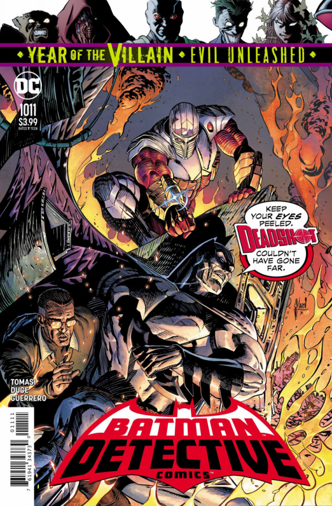 Couverture de Detective Comics (1937), période Rebirth (2016) -1011- The Rising Sun