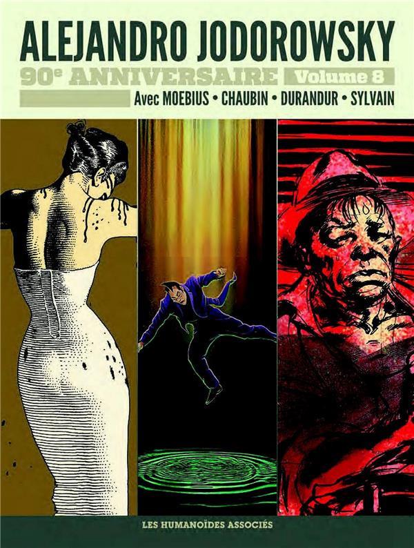 Couverture de Alejandro Jodorowsky 90e anniversaire -8- Volume 8