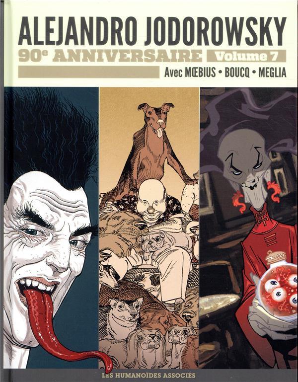 Couverture de Alejandro Jodorowsky 90e anniversaire -7- Volume 7