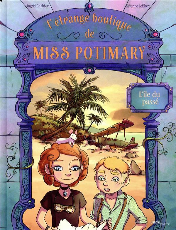 Couverture de L'Étrange boutique de Miss Potimary -3- Tome 3