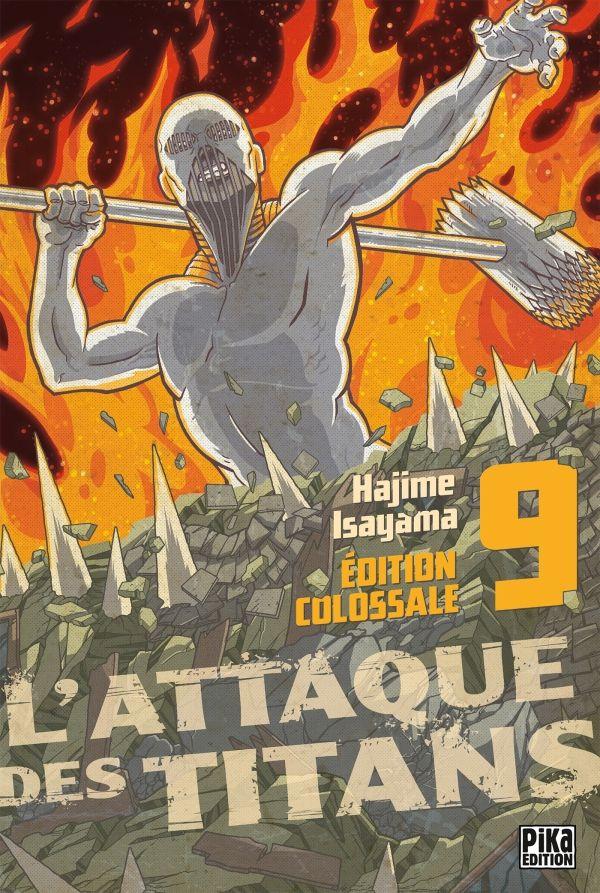 Couverture de L'attaque des titans - Édition Colossale -9- Tome 9