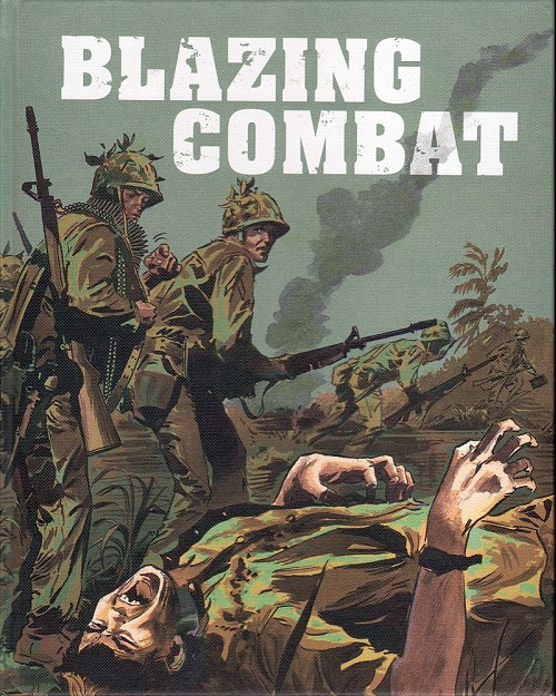 Couverture de Blazing Combat (Warren - 1965) -INT01- Blazing combat