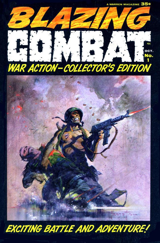 Couverture de Blazing Combat (Warren - 1965) -1- (sans titre)