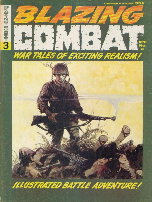 Couverture de Blazing Combat (Warren - 1965) -3- (sans titre)