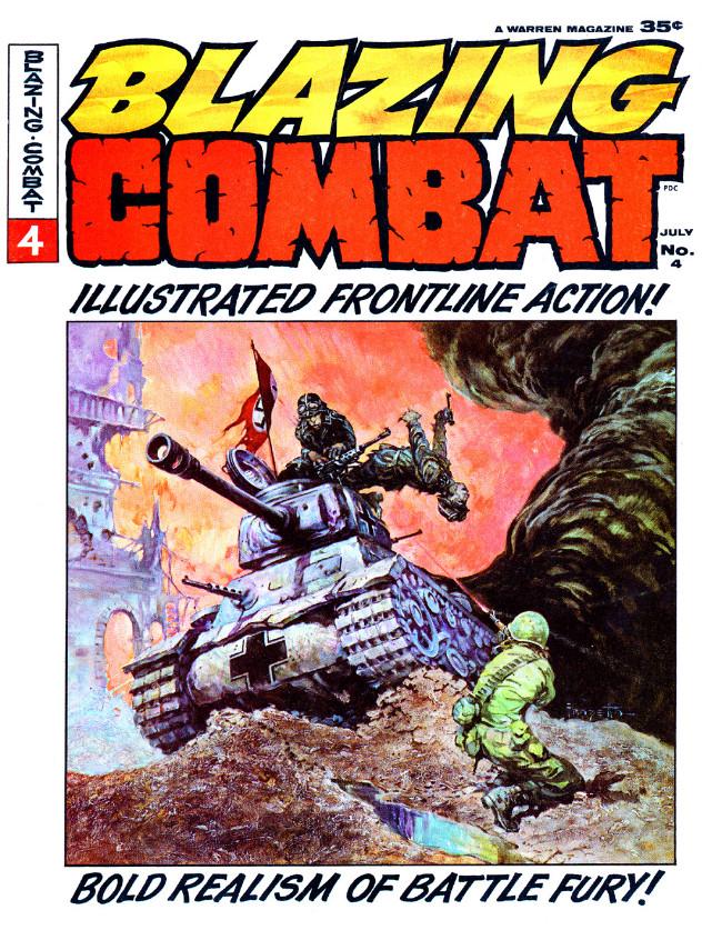 Couverture de Blazing Combat (Warren - 1965) -4- (sans titre)