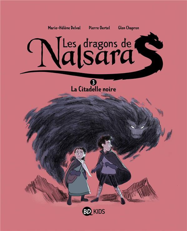 Couverture de Les dragons de Nalsara -3- La citadelle noire