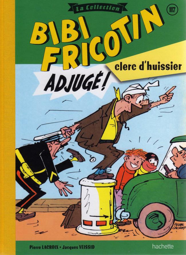 Couverture de Bibi Fricotin (Hachette - la collection) -117- Bibi Fricotin clerc d'huissier