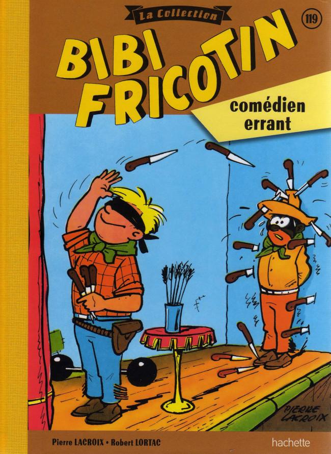 Couverture de Bibi Fricotin (Hachette - la collection) -119- Bibi Fricotin comédien errant