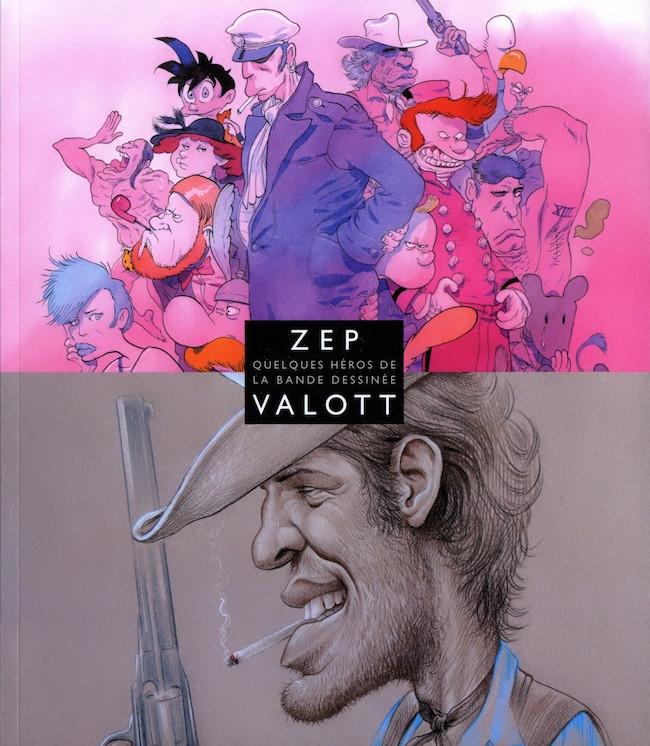 Couverture de (Catalogues) Expositions - Quelques héros de la bande dessinée