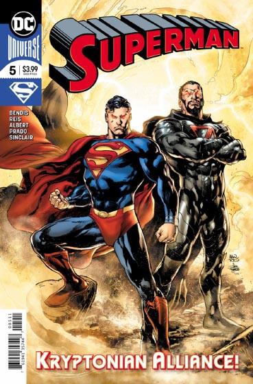 Couverture de Superman Vol.5 (DC Comics - 2018) -5- The Unity Saga - Part 5