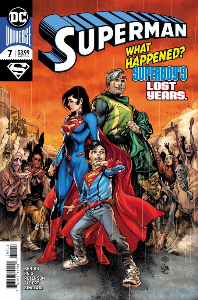 Couverture de Superman Vol.5 (DC Comics - 2018) -7- The Unity Saga : The House of El - Part 1