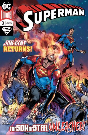 Couverture de Superman Vol.5 (DC Comics - 2018) -8- The Unity Saga : The House of El - Part 2