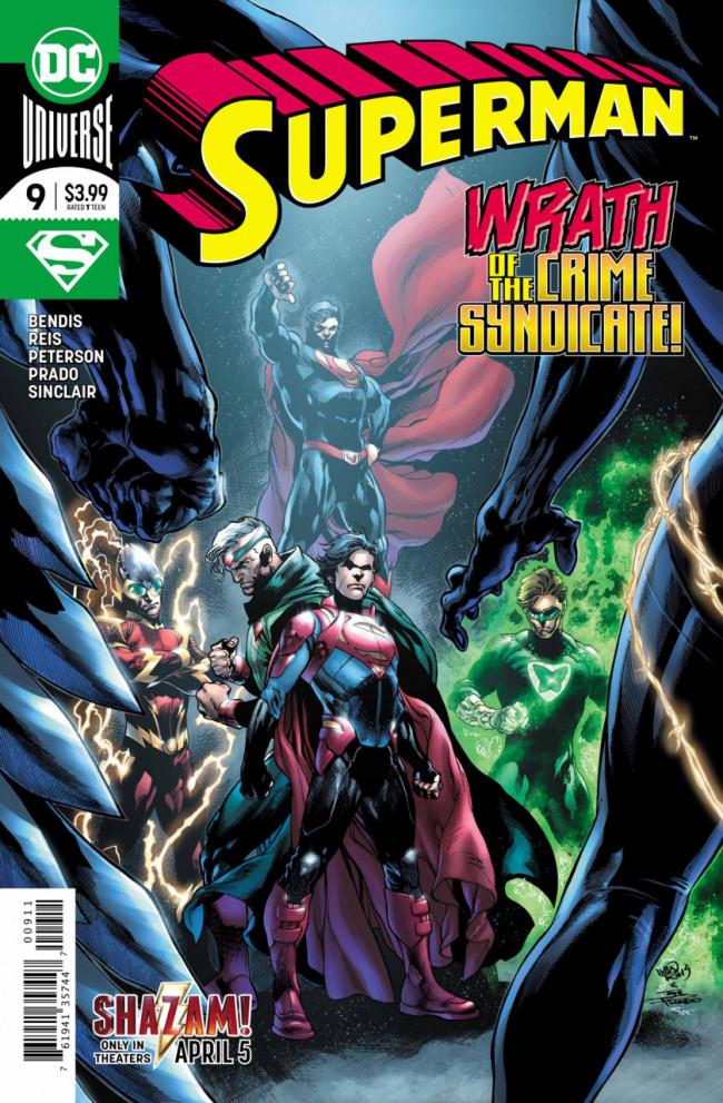 Couverture de Superman Vol.5 (DC Comics - 2018) -9- the Unity Saga : The House of El - Part 3