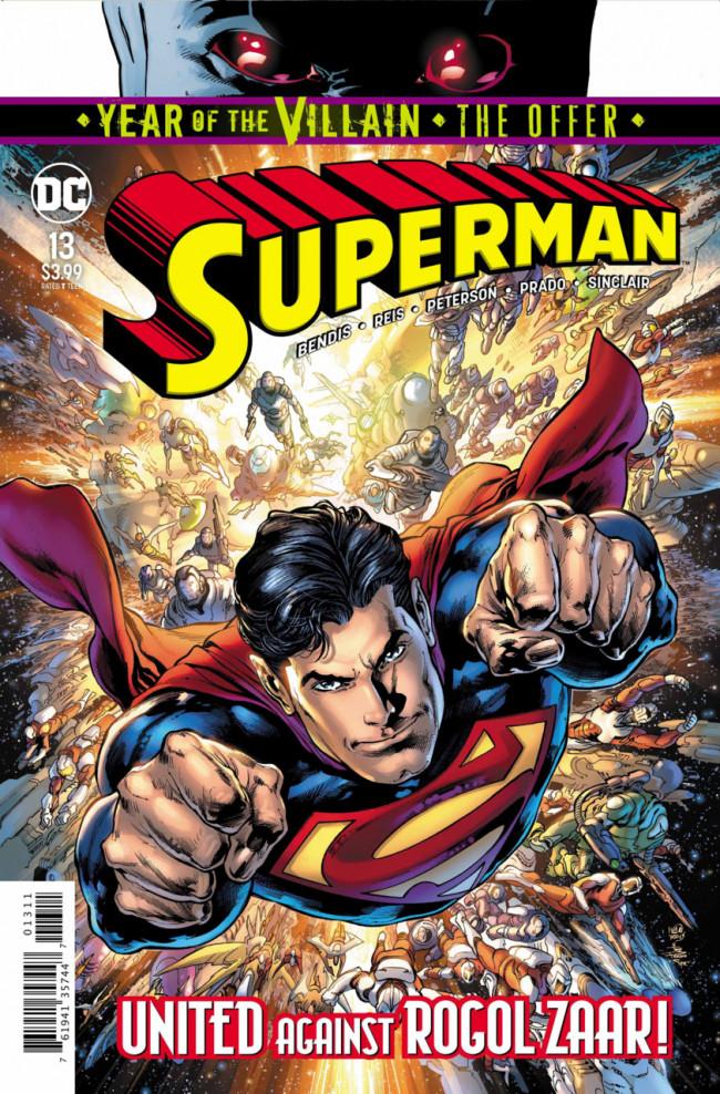 Couverture de Superman Vol.5 (DC Comics - 2018) -13- The Unity Saga : The House of El - Part 7