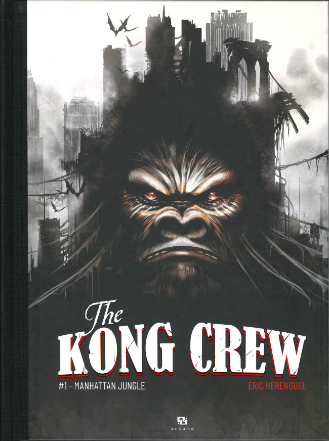 Couverture de Kong Crew (The) -1- Manhattan jungle