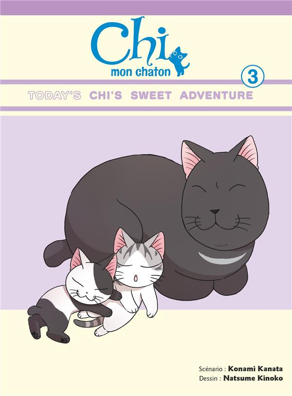 Couverture de Chi - Mon Chaton -3- Tome 3