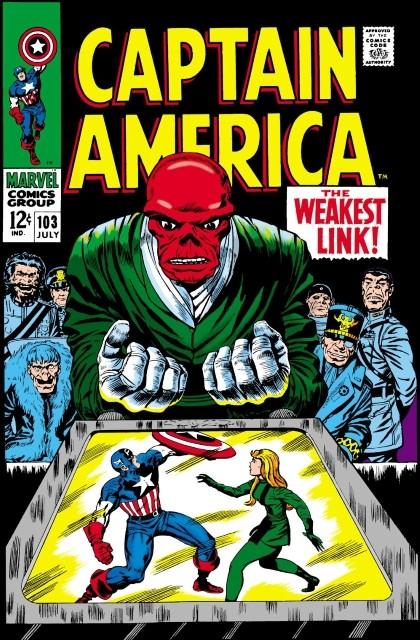 Couverture de Captain America (Marvel comics - 1968) -103- The weakest link
