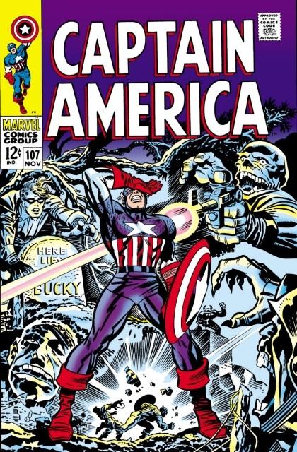 Couverture de Captain America (Marvel comics - 1968) -107- If the past be not dead