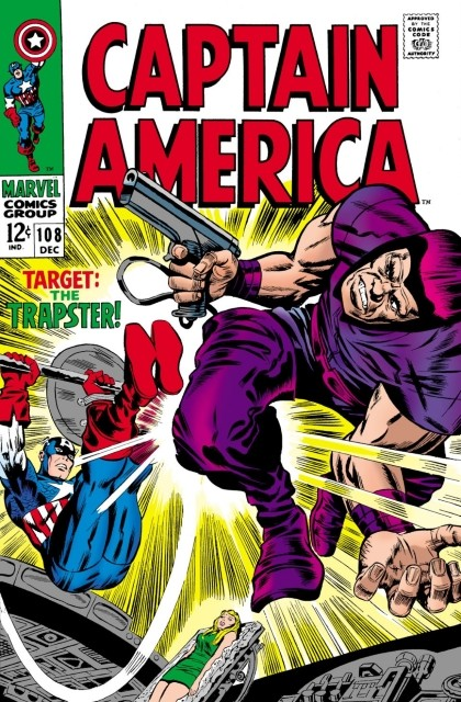Couverture de Captain America (Marvel comics - 1968) -108- The snares of the trapster!