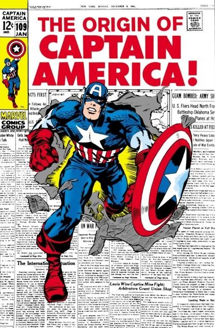 Couverture de Captain America (Marvel comics - 1968) -109- The hero that was!