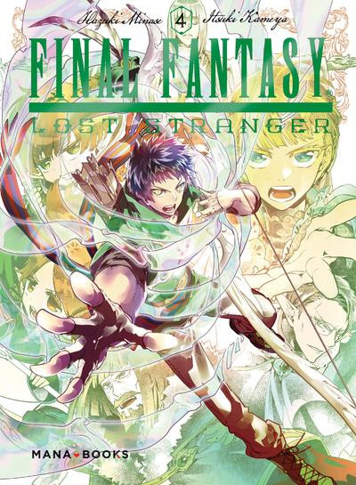 Couverture de Final Fantasy - Lost stranger -4- Tome 4
