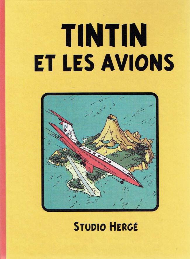 Couverture de Tintin - Pastiches, parodies & pirates - Tintin et les avions