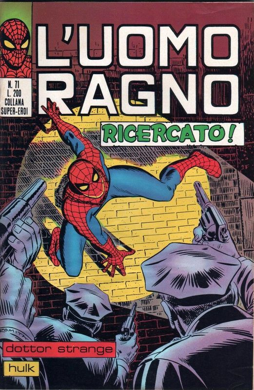 Couverture de L'uomo Ragno (Editoriale Corno) V1 -71- Ricercato!