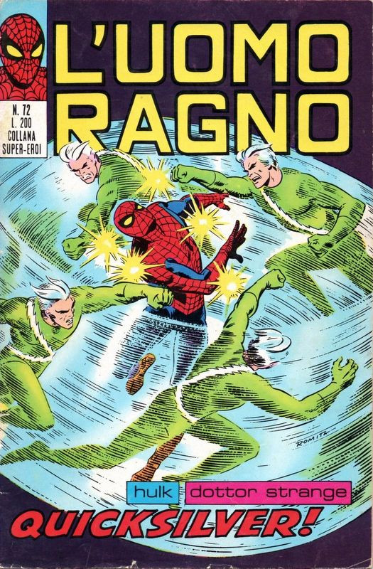 Couverture de L'uomo Ragno (Editoriale Corno) V1 -72- Quicksilver!