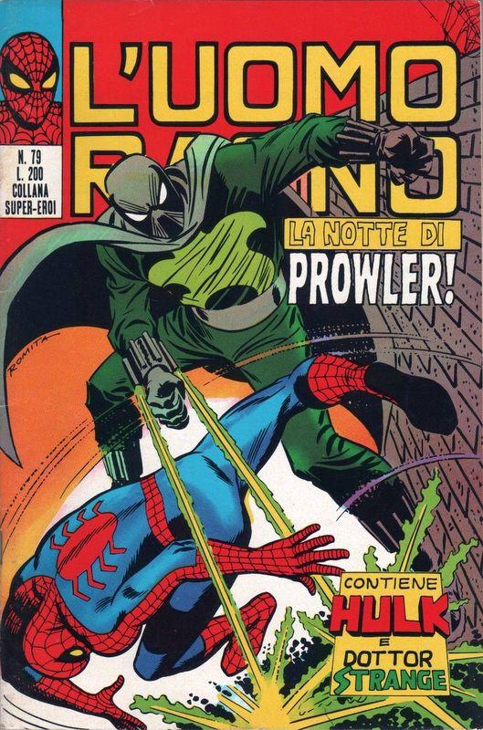 Couverture de L'uomo Ragno (Editoriale Corno) V1 -79- La Notte di Prowler!