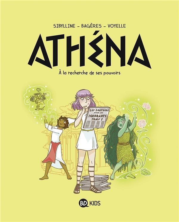 Couverture de Athena -2- À la recherche de son pouvoir