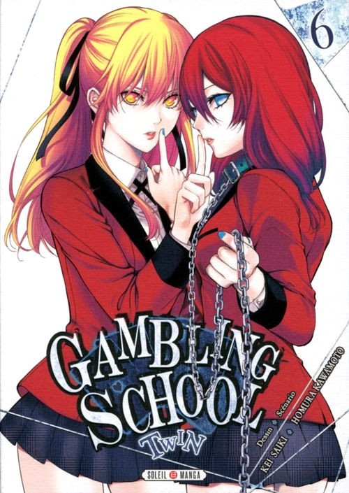 Couverture de Gambling School - Twin -6- Volume 6