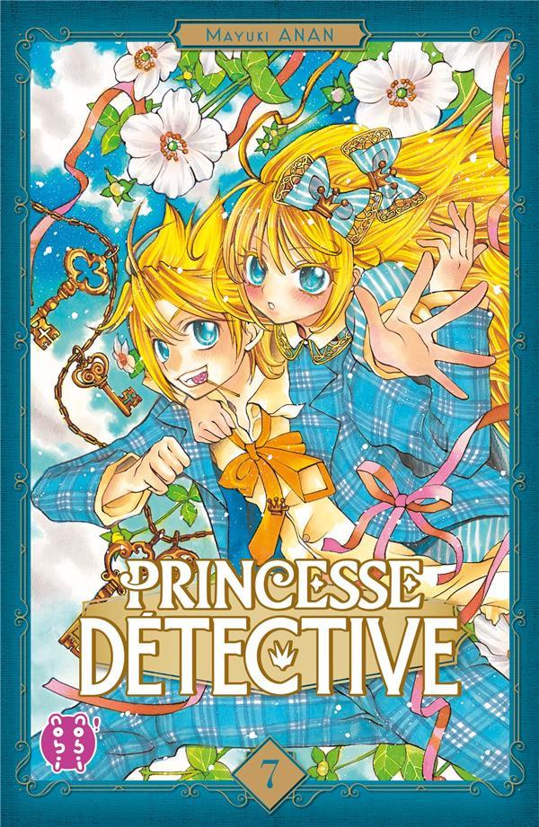 Couverture de Princesse détective -7- Tome 7