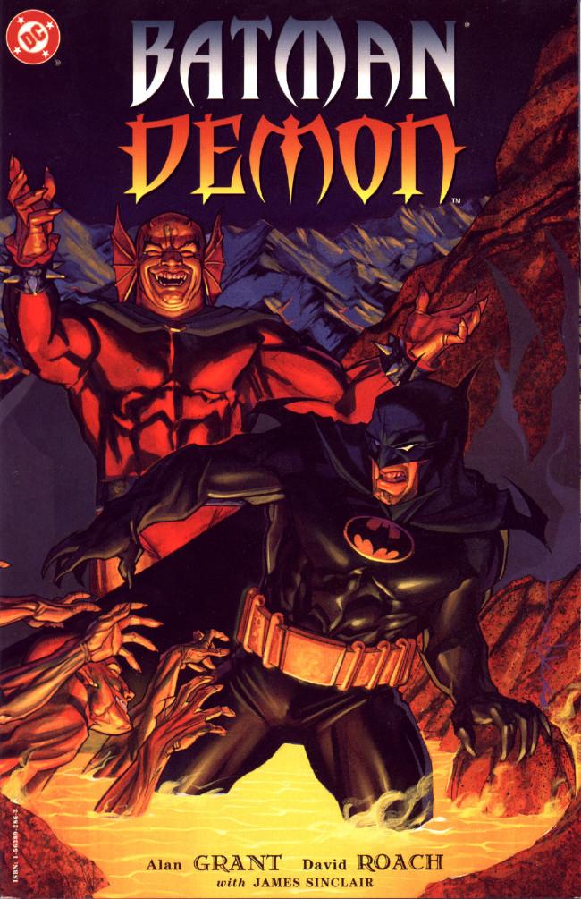 Couverture de Batman/Demon (1996) - Batman/Demon