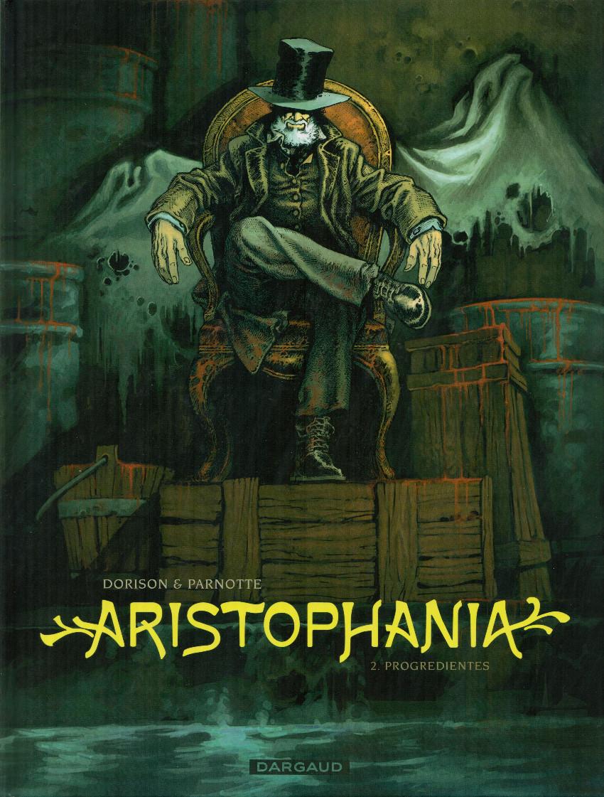 Couverture de Aristophania -2- Progredientes