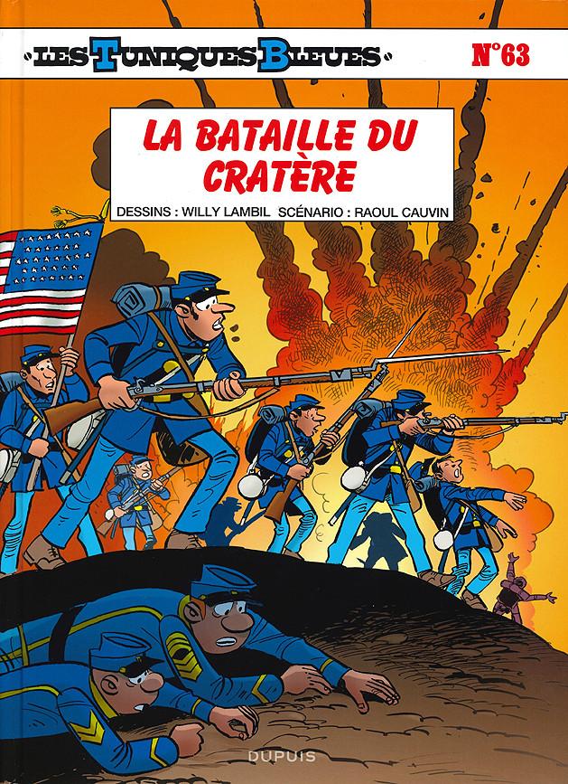 Couverture de Les tuniques Bleues -63- La bataille du Cratère
