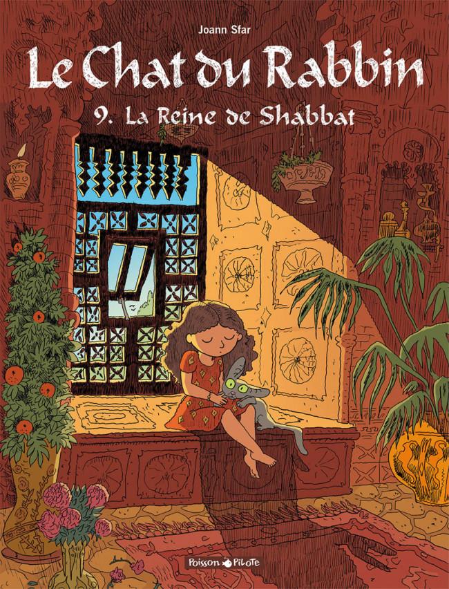 Couverture de Le chat du Rabbin -9- La Reine de Shabbat